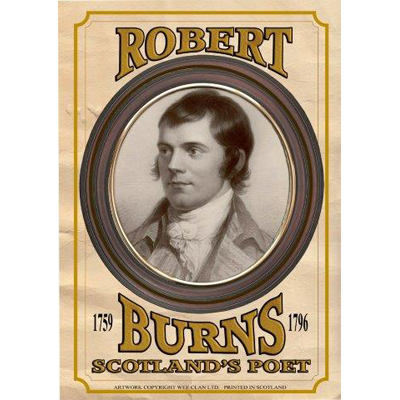Poster - Burns Portrait 4 (Prices depending on size)