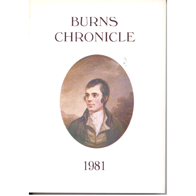 Burns Chronicle - 1981