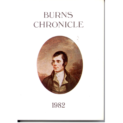 Burns Chronicle - 1982