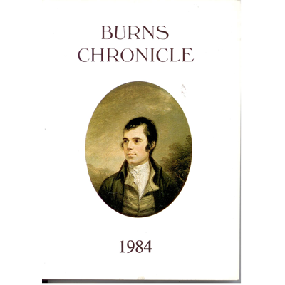 Burns Chronicle - 1984
