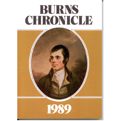 Burns Chronicle - 1989