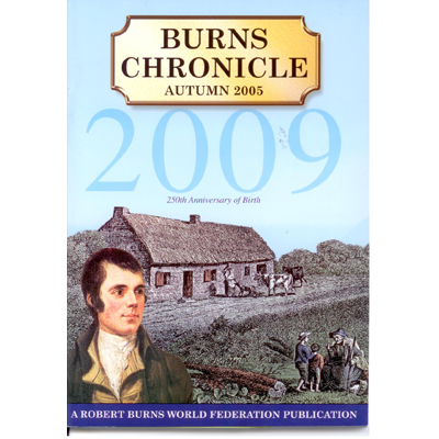 Burns Chronicle - Autumn 2005