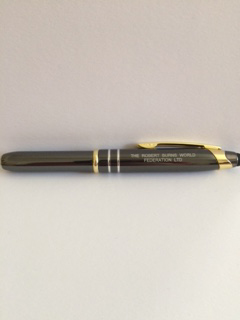 RBWF Engraved Pen with Light and Stylus