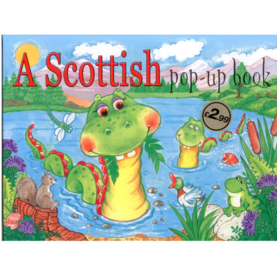 A Scottish Pop-up book