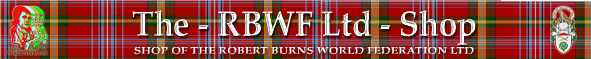 Robert Burns World Federation Online Shop